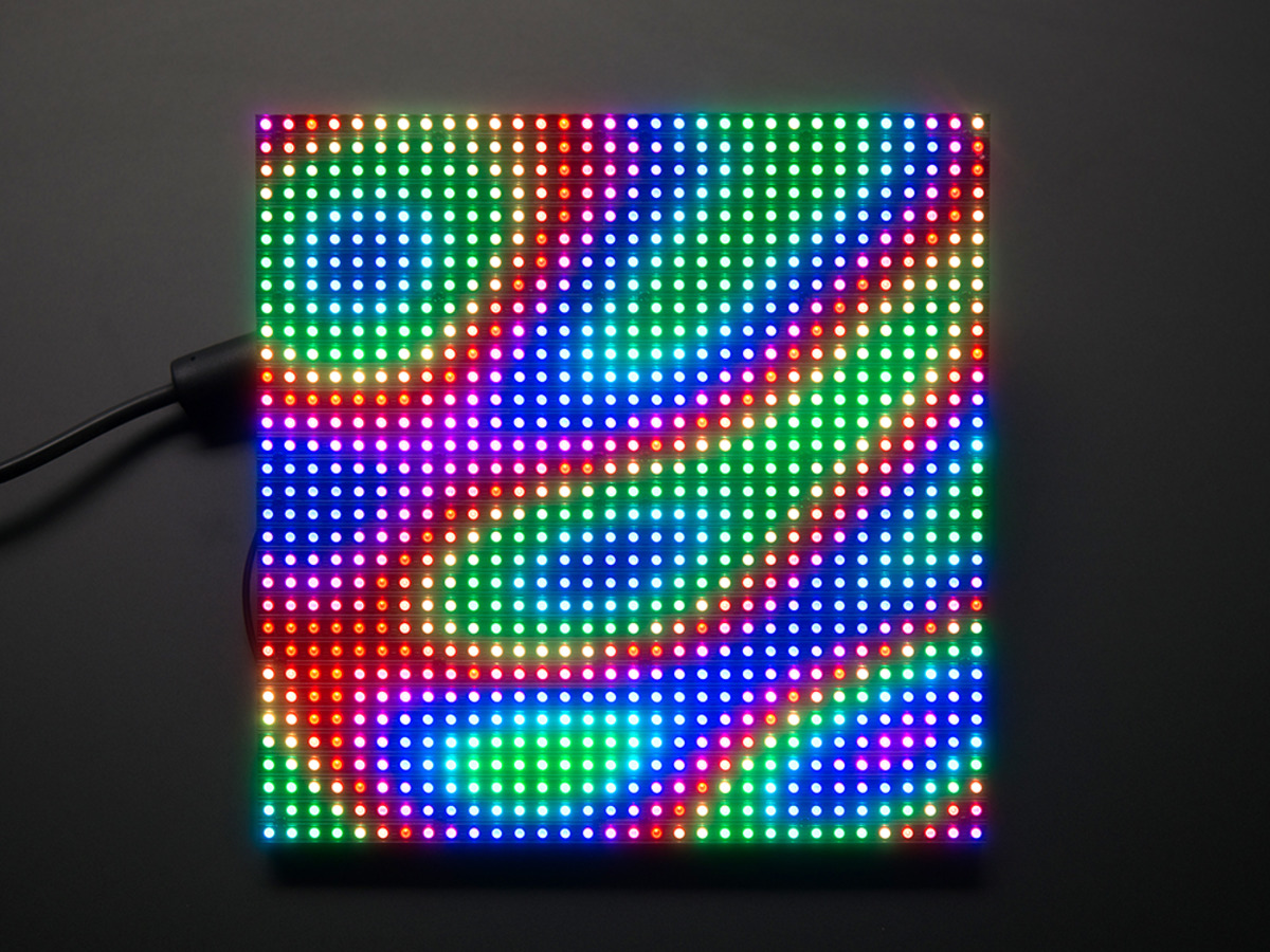 32x32 rgb led matrix panel 6mm pitch id 1484 adafruit industries unique fun diy. Black Bedroom Furniture Sets. Home Design Ideas