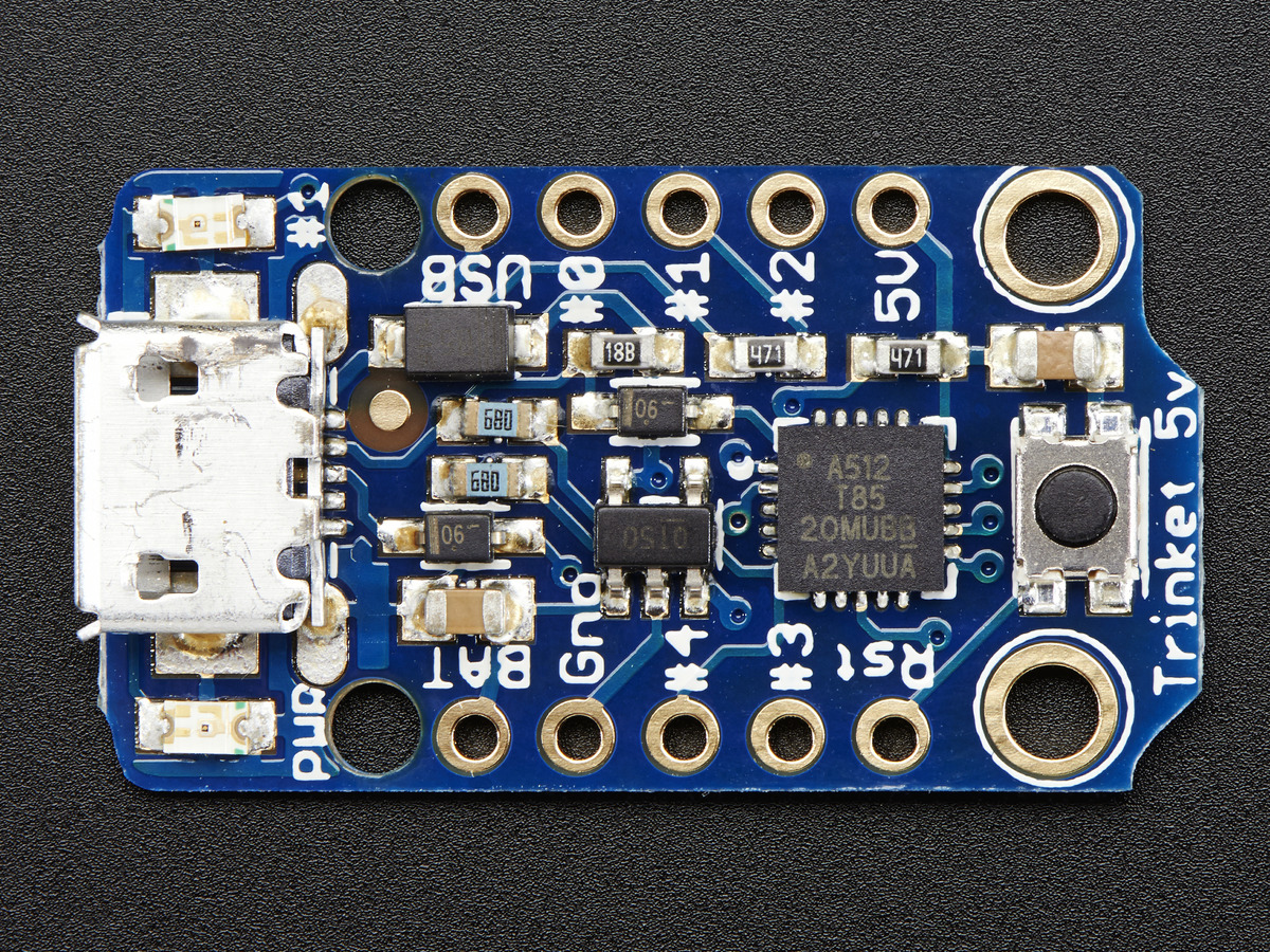 ... Adafruit Trinket - Mini Microcontroller - 5V Logic