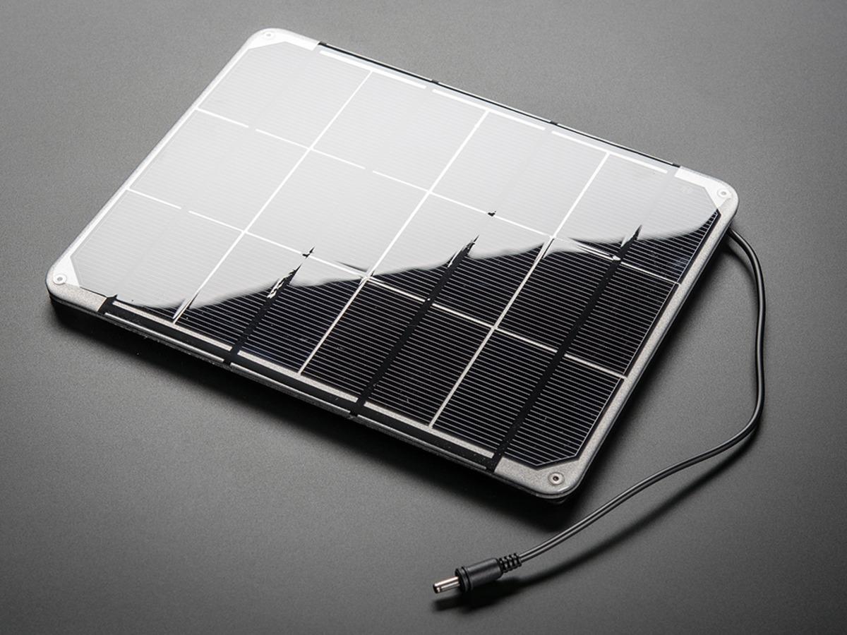 Huge 6v 6w Solar Panel 6 0 Watt Id 1525 59 00