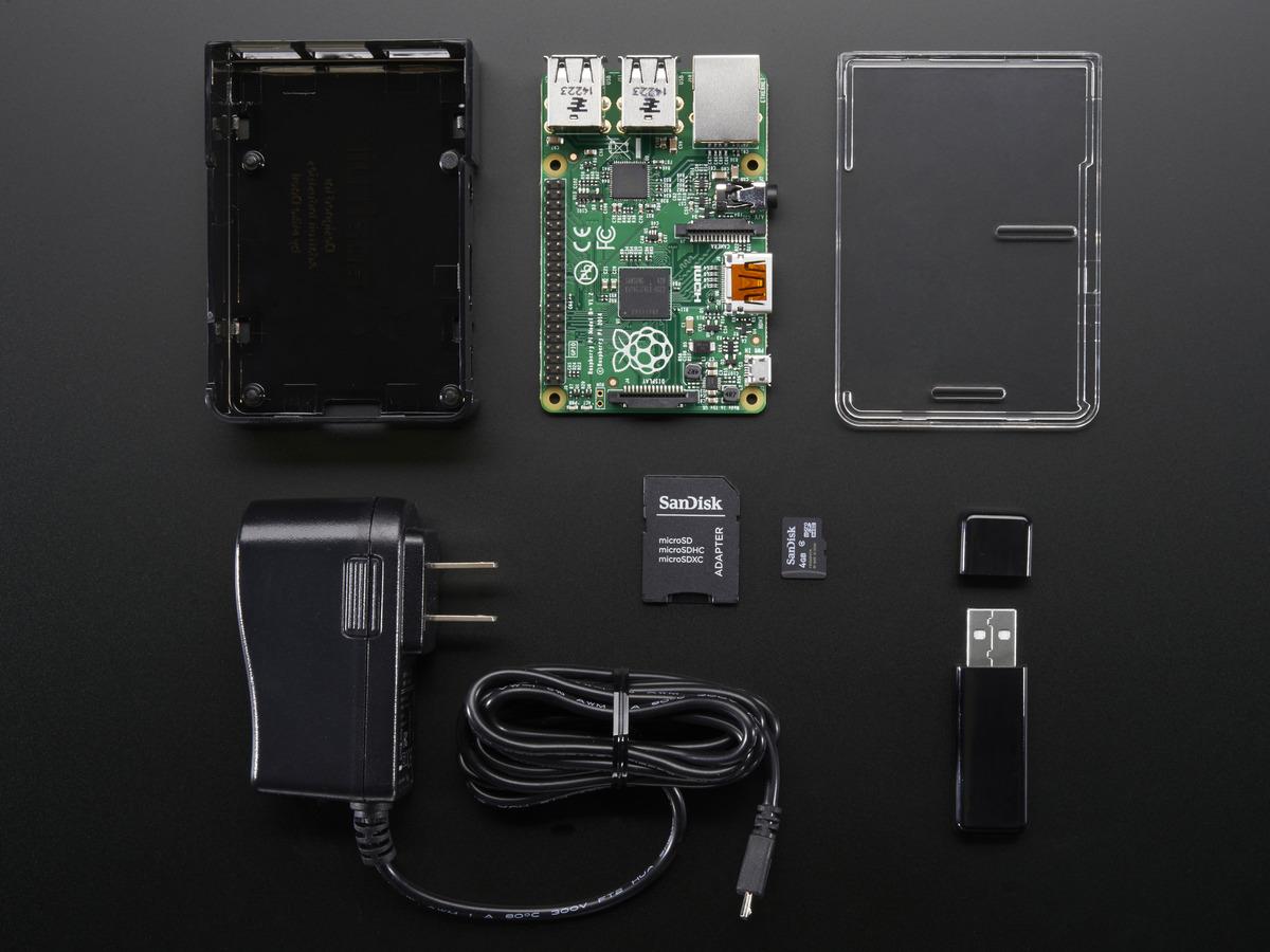 CODER Pack for Raspberry Pi 2 Model B