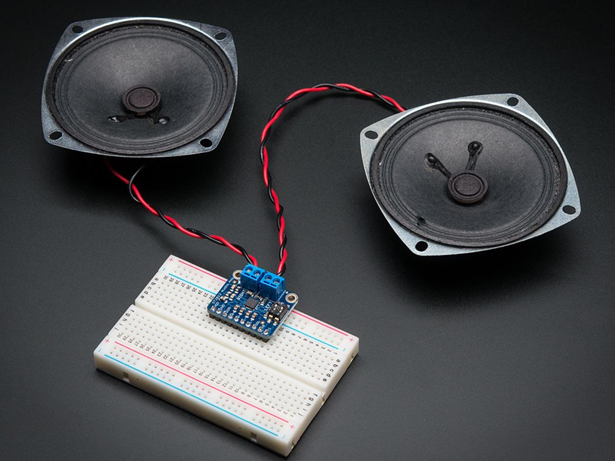 Adafruit Stereo 3.7W Class D Audio Amplifier MAX98306