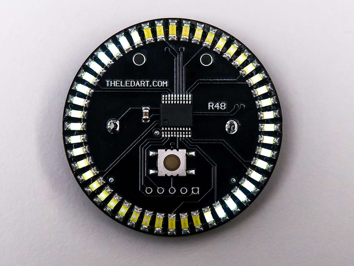 The LED Artist R48 - White LED Wearable ...