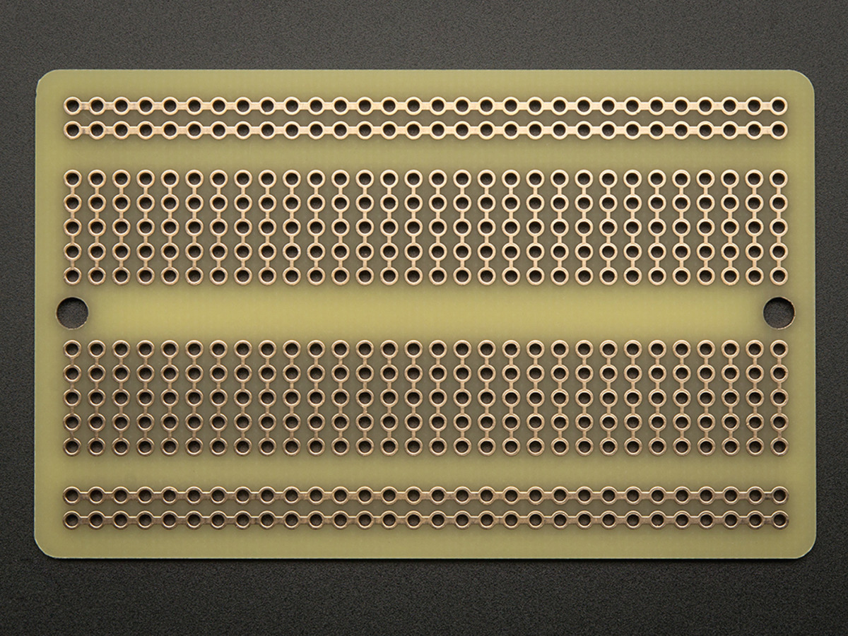 PCB Prototype Board Solderable Breadboard For Arduino /& DIY Electronics Projects