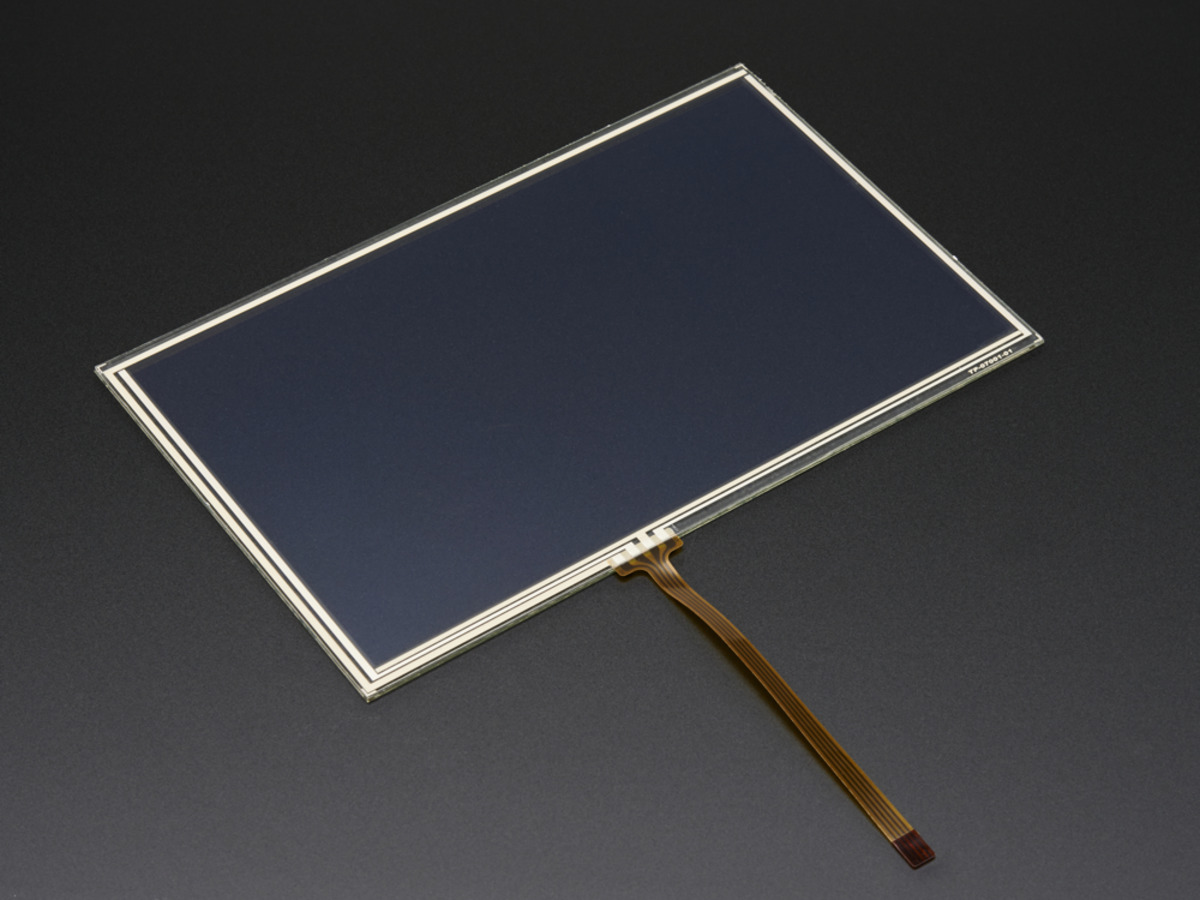 Resistive Touchscreen Overlay 7 Diag 165mm X 105mm 4