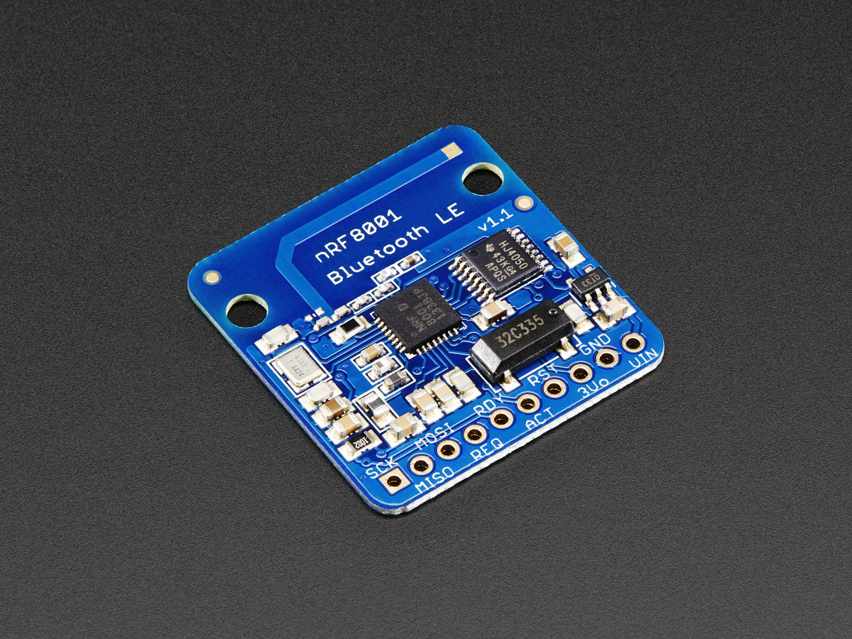 Bluefruit Le Bluetooth Low Energy Ble 40 Nrf8001 Breakout V1 Transmitter And Receiver Circuit