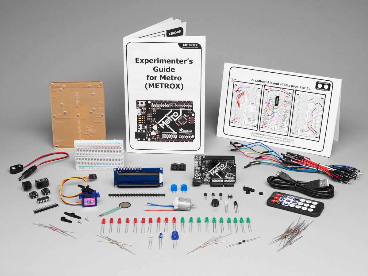 Adafruit Metrox Classic Kit Experimentation For Metro 328 Id Buy Integrated Electronics Analog And Digital Circuits Systems 2