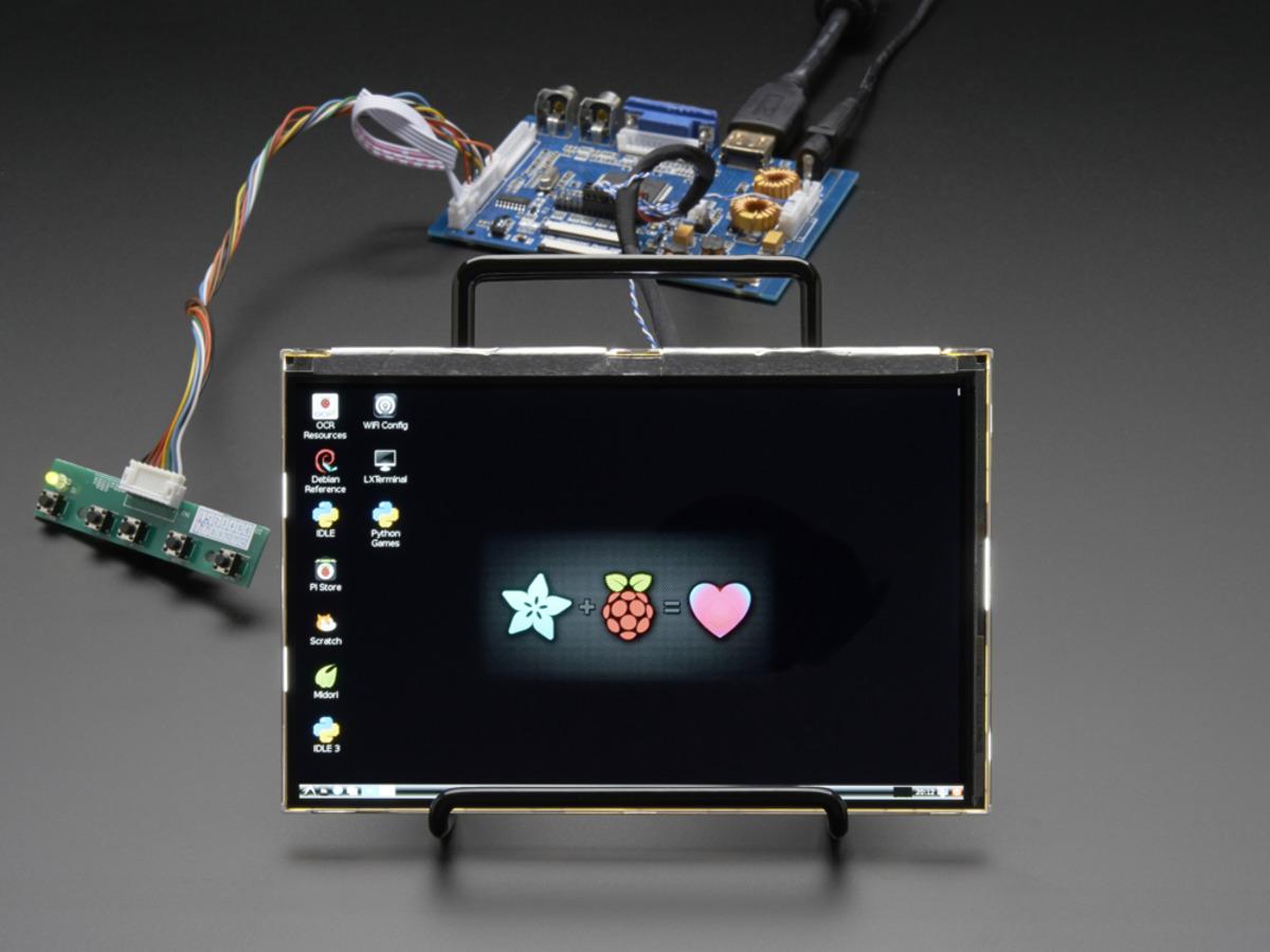 HDMI 4 Pi 7 Display Audio 1280x800 IPS