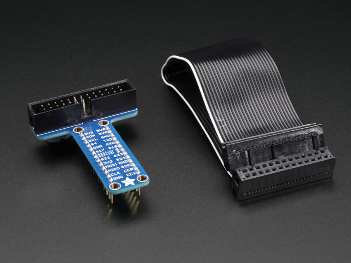 Adafruit Assembled Pi T Cobbler Breakout For Raspberry Explore Nes Circuit Bend And More Audio