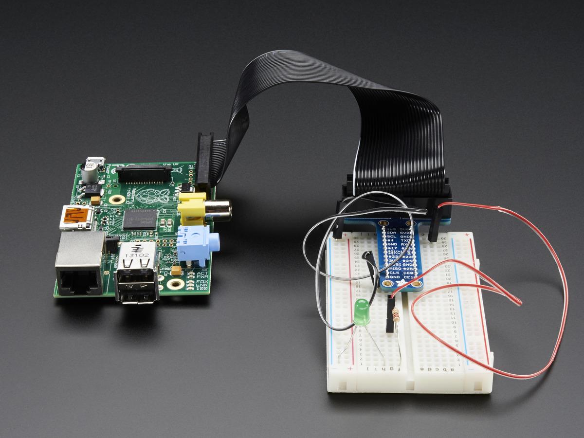 B+ Assembled Pi Cobbler Plus Breakout Cable for Raspberry Pi A+