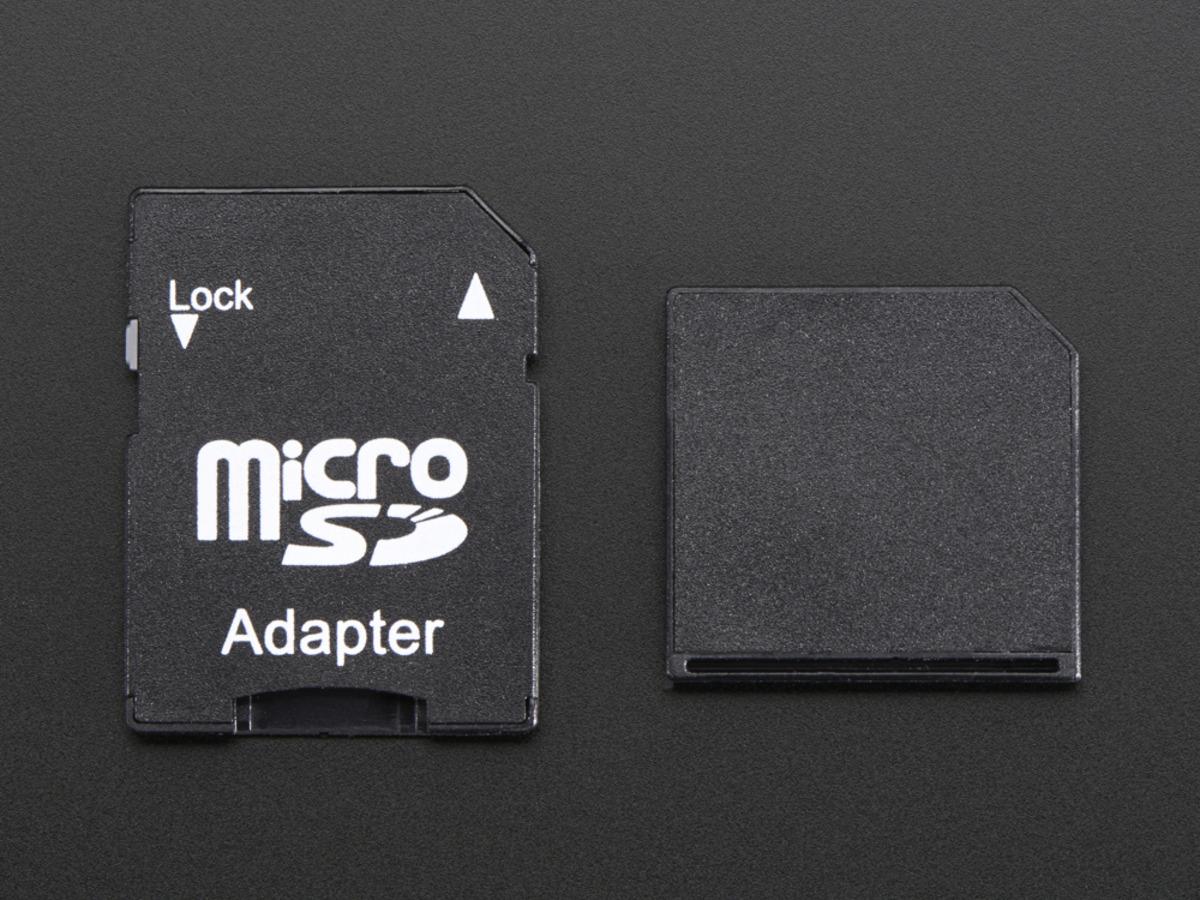 Adafruit Breakout Board+ Adaptador para Tarjeta MicroSD