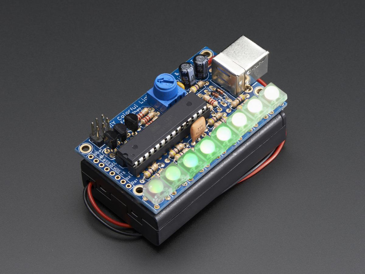 Minipov 4 kit diy full color pov and light painting kit for Homemade electronic gadgets