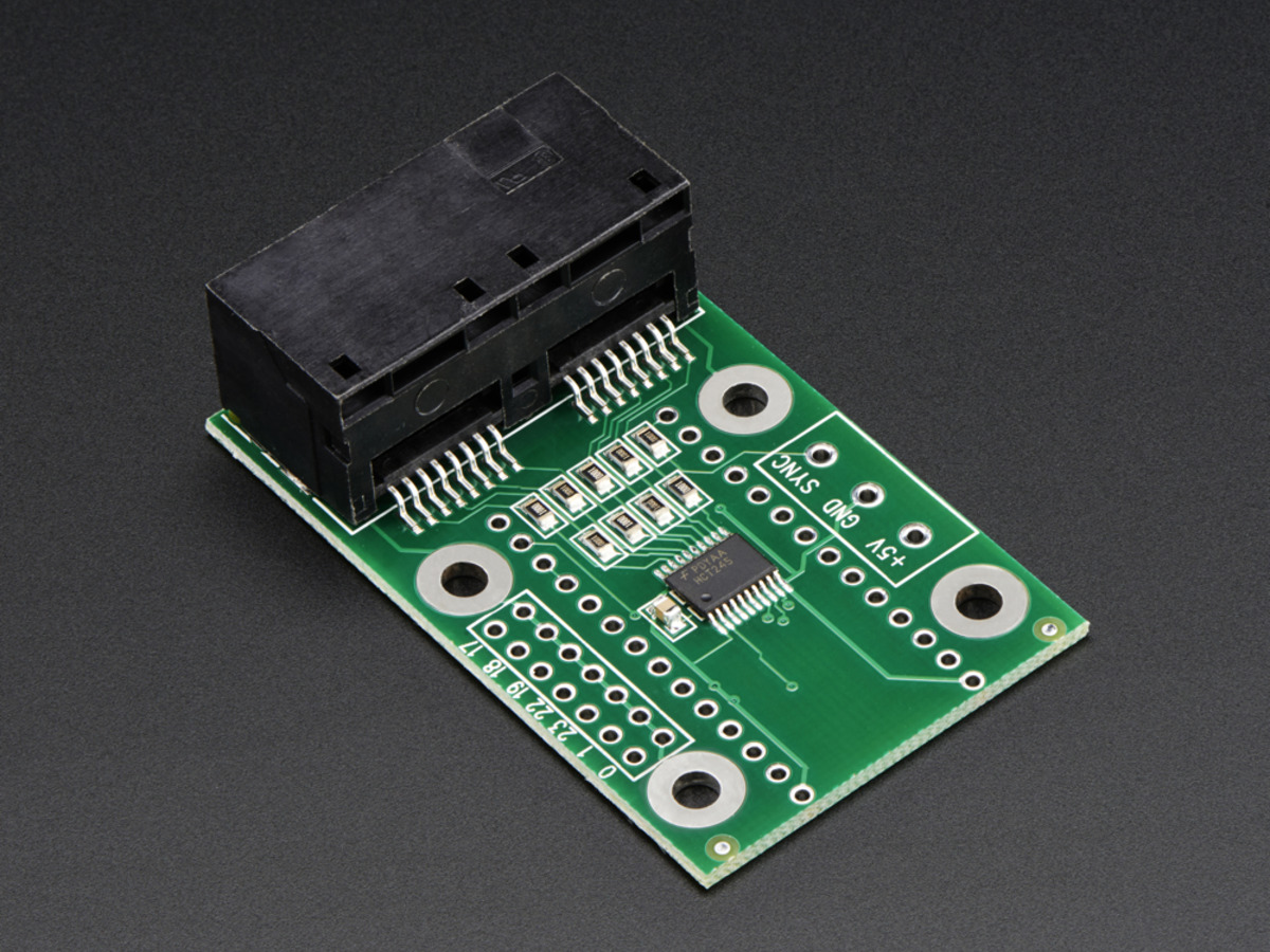 OctoWS2811 Adapter for Teensy 3 1 - Control tons of