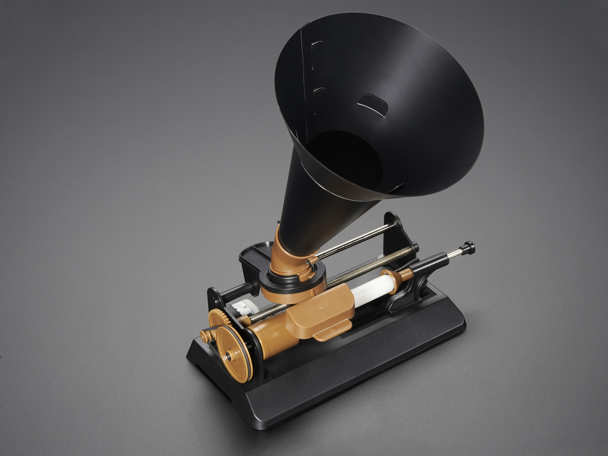 Edison Wax Candle Cylinder Phonograph Kit By Gakken