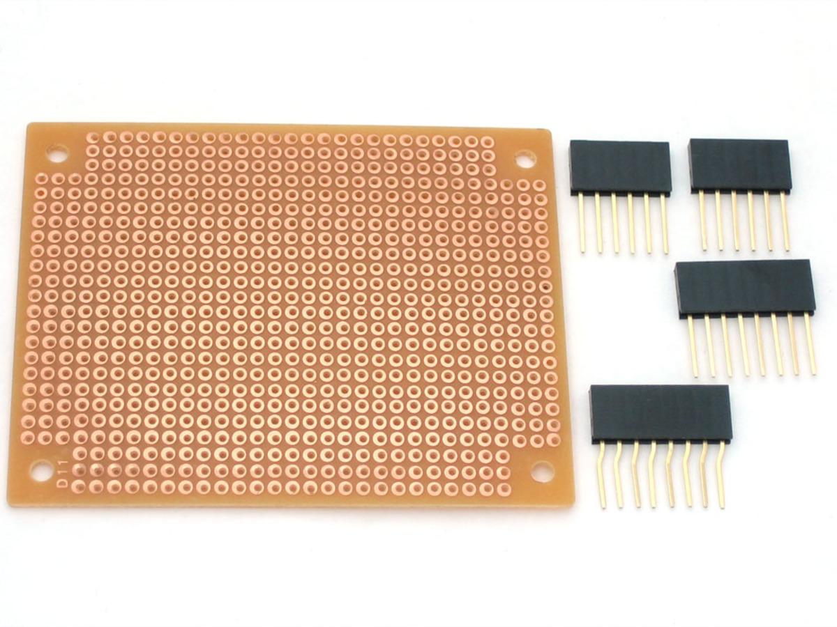 Diy shield for arduino id adafruit