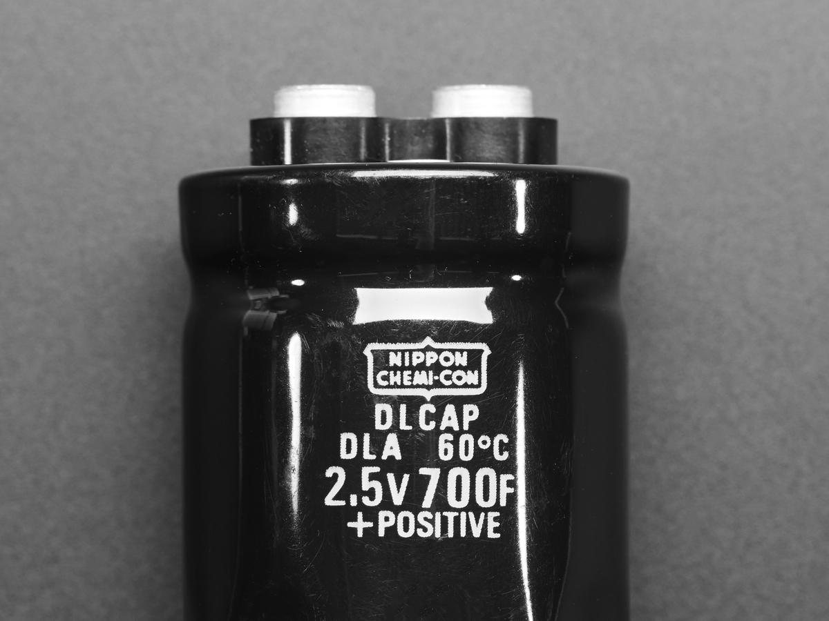 Super Capacitor - 2 5V 700 Farad ID: 1885 - $19 95 : Adafruit