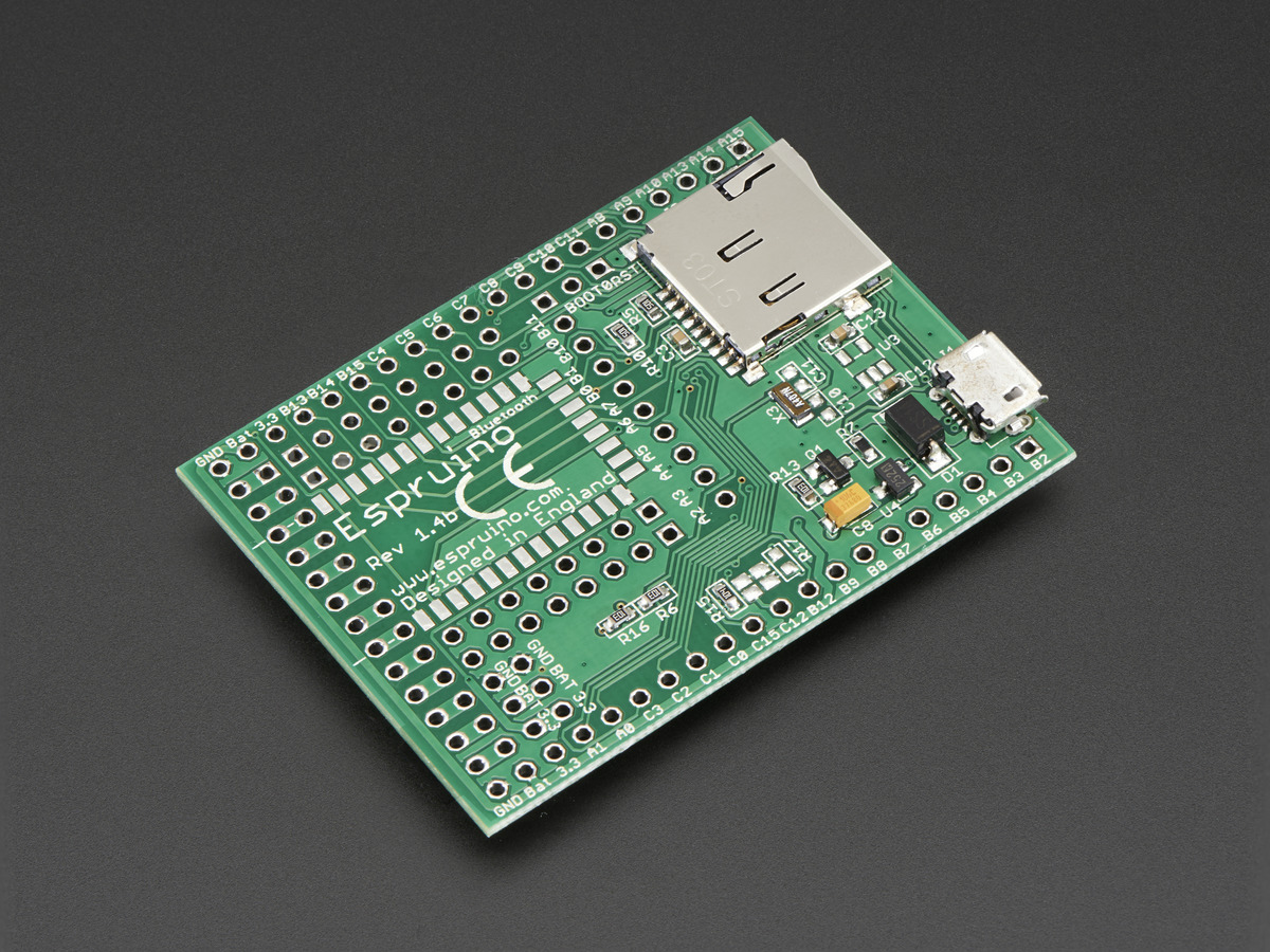 espruino 1 4 open source javascript microcontroller id thermostat wiring color code circuit zone com electronic projects