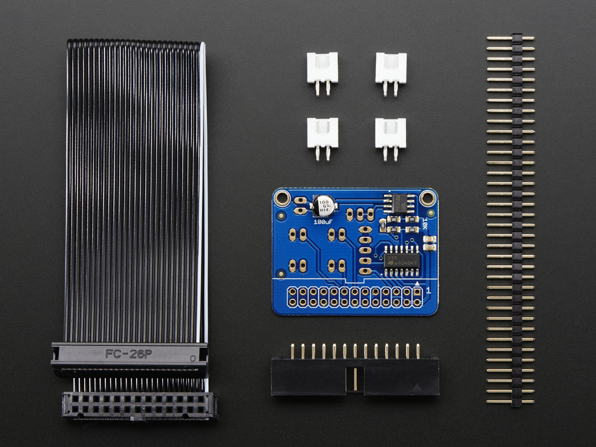 Cupcade Adapter PCB + Parts Pack ID: 1916 - $7.50 : Adafruit ...