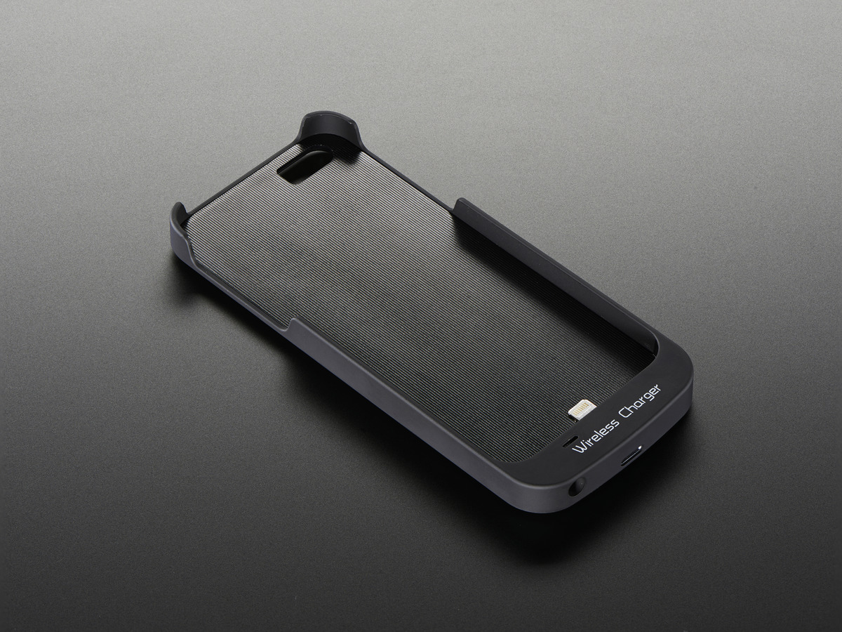 Qi Wireless Charger Sleeve Iphone 5 Lightning Connector