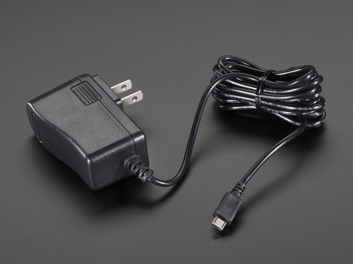5v 25a Switching Power Supply With 20awg Microusb Cable Id 1995 Wiring Micro Usb Connector