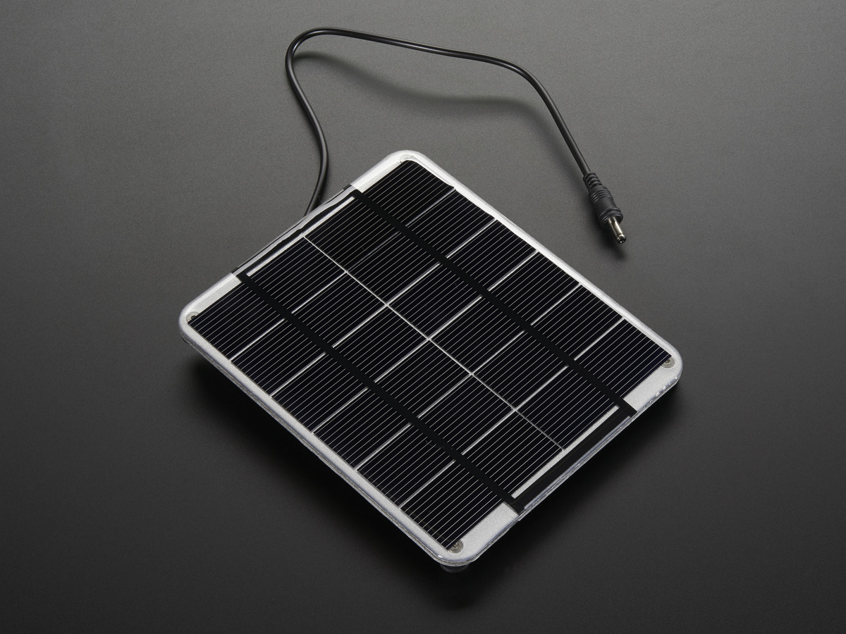 Medium 6v 2w solar panel 2 0 watt id 200 for Panneau solaire plug and play