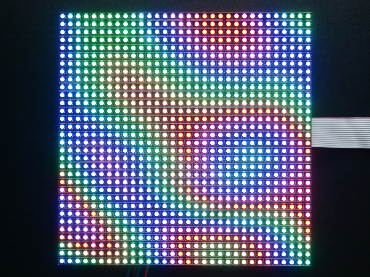 32x32 rgb led matrix panel 5mm pitch id 2026 adafruit industries unique fun diy. Black Bedroom Furniture Sets. Home Design Ideas