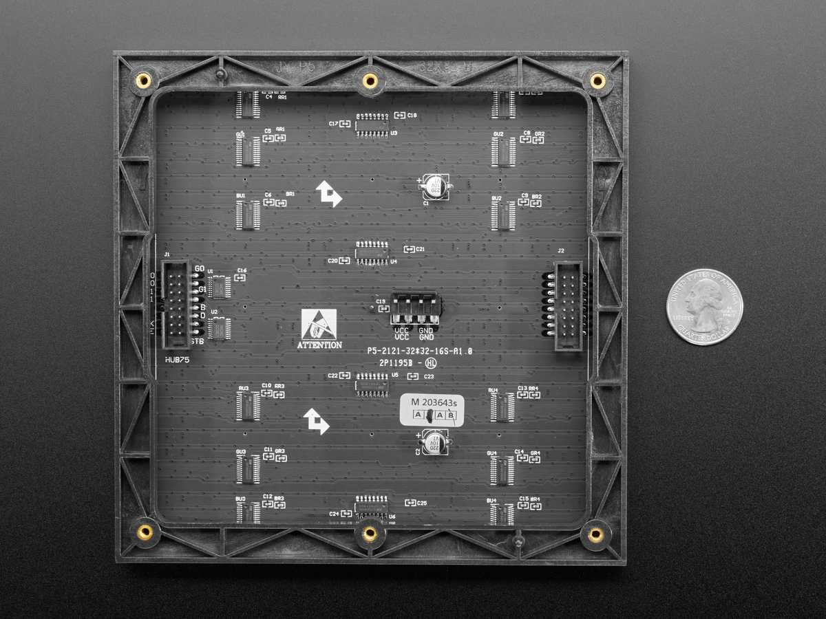 20x20 RGB LED Matrix Panel   20mm Pitch