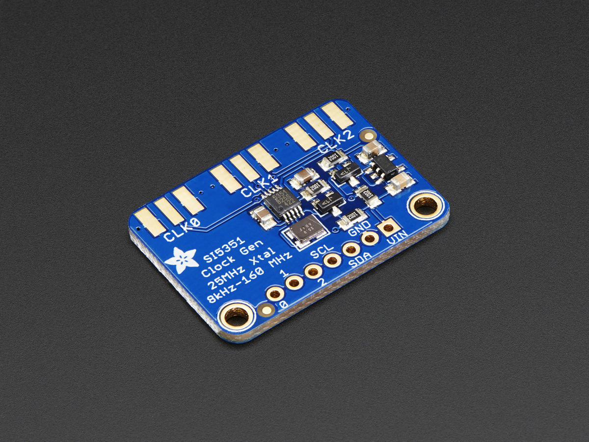 Adafruit Si5351A Clock Generator Breakout Board - 8KHz to