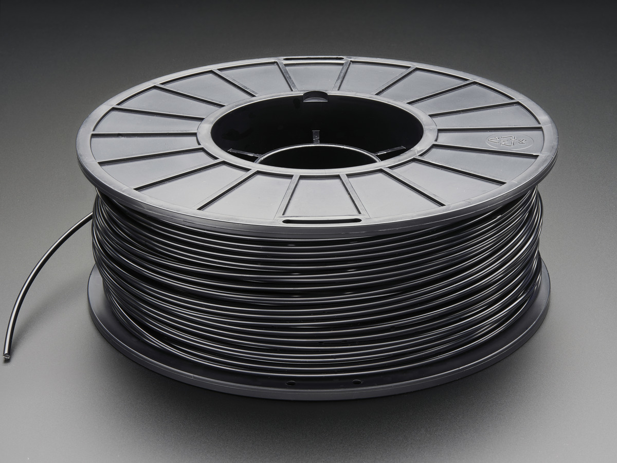 Wire Printers | Abs Filament For 3d Printers 1 75mm Diameter Black 1kg Id