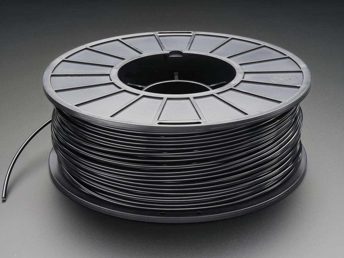 3d Printer Filament >> Abs Filament For 3d Printers 3mm Diameter Black 1kg Id 2066