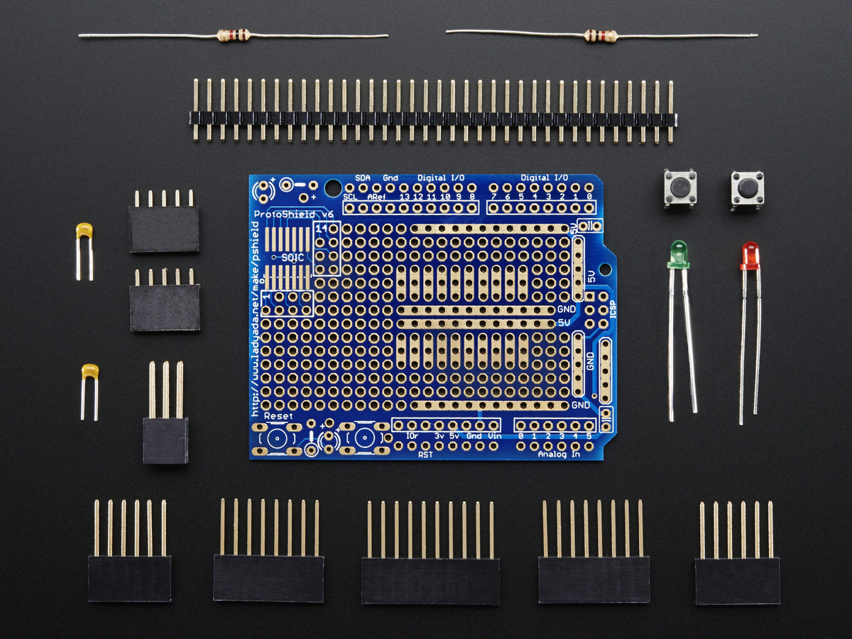 Adafruit Proto Shield for Arduino Unassembled Kit