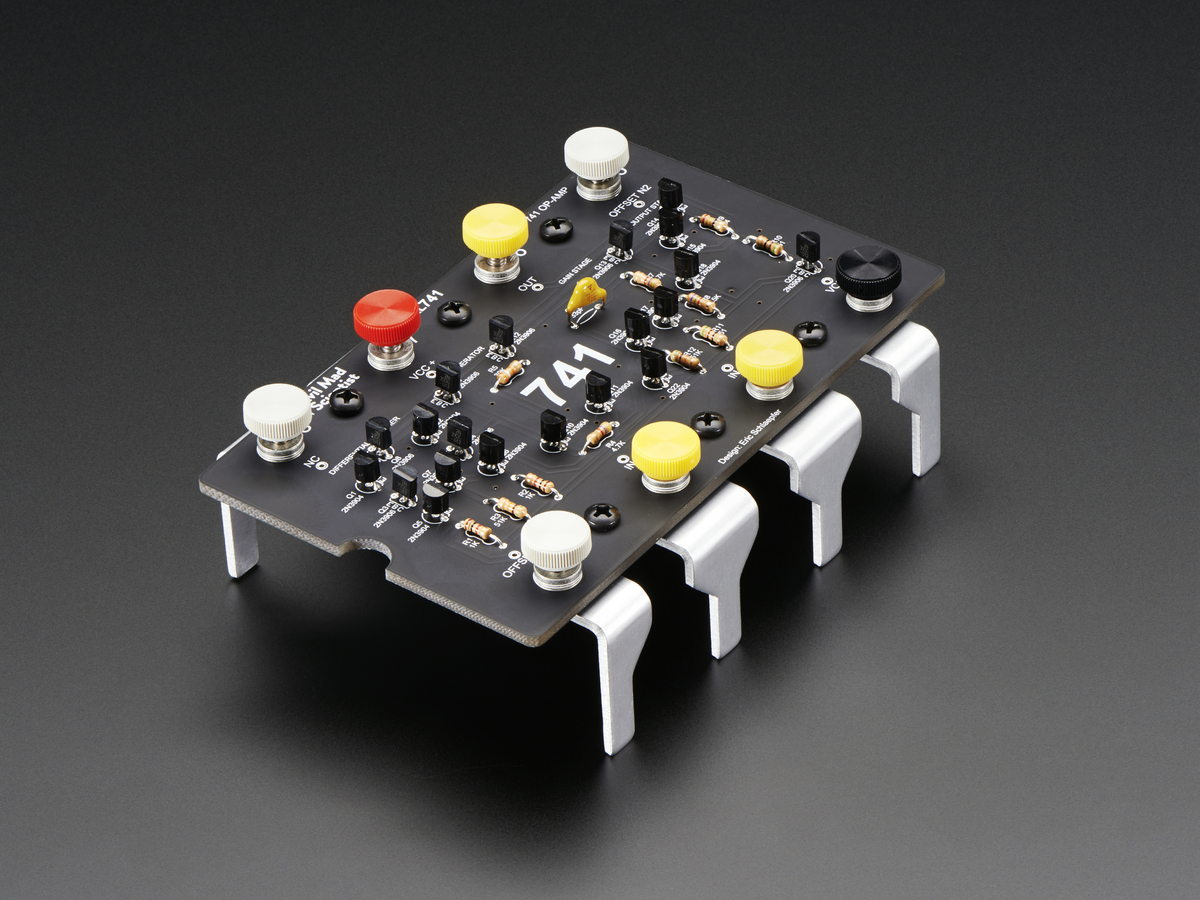 Evil Mad Scientist Labs Xl741 Discrete Op Amp Kit V20 Id 2086 741 Operational Amplifier Electronic Circuits