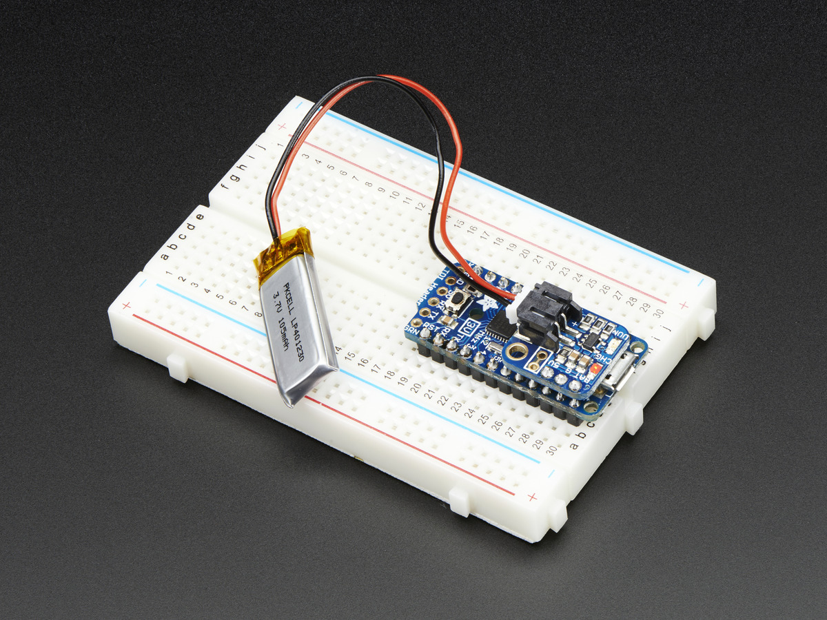 Adafruit Liion Lipoly Backpack Add On For Pro Trinket Itsybitsy Id Charger Circuit Without Microcontroller Homemade Projects