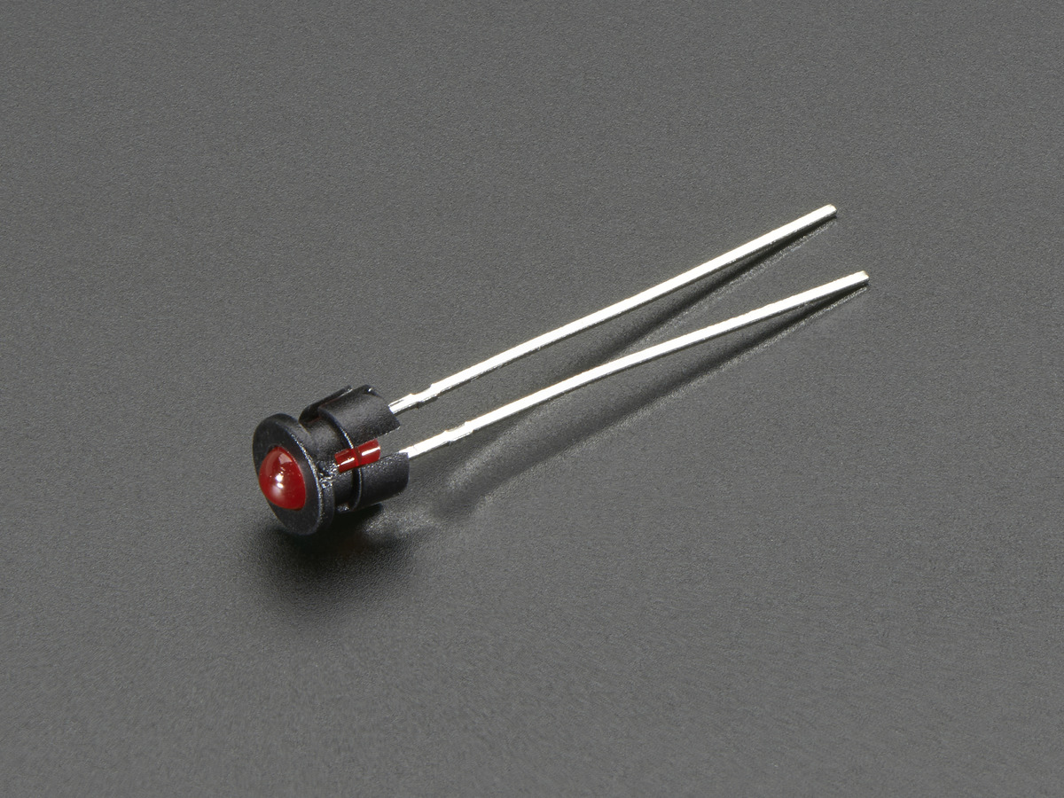Search Adafruit Industries Unique Fun Diy Electronics And Kits Light Emitting Diode Circuit Http Wwwdatasheetdircom Dcdc 3mm Plastic Bevel Led Holder Pack Of 5