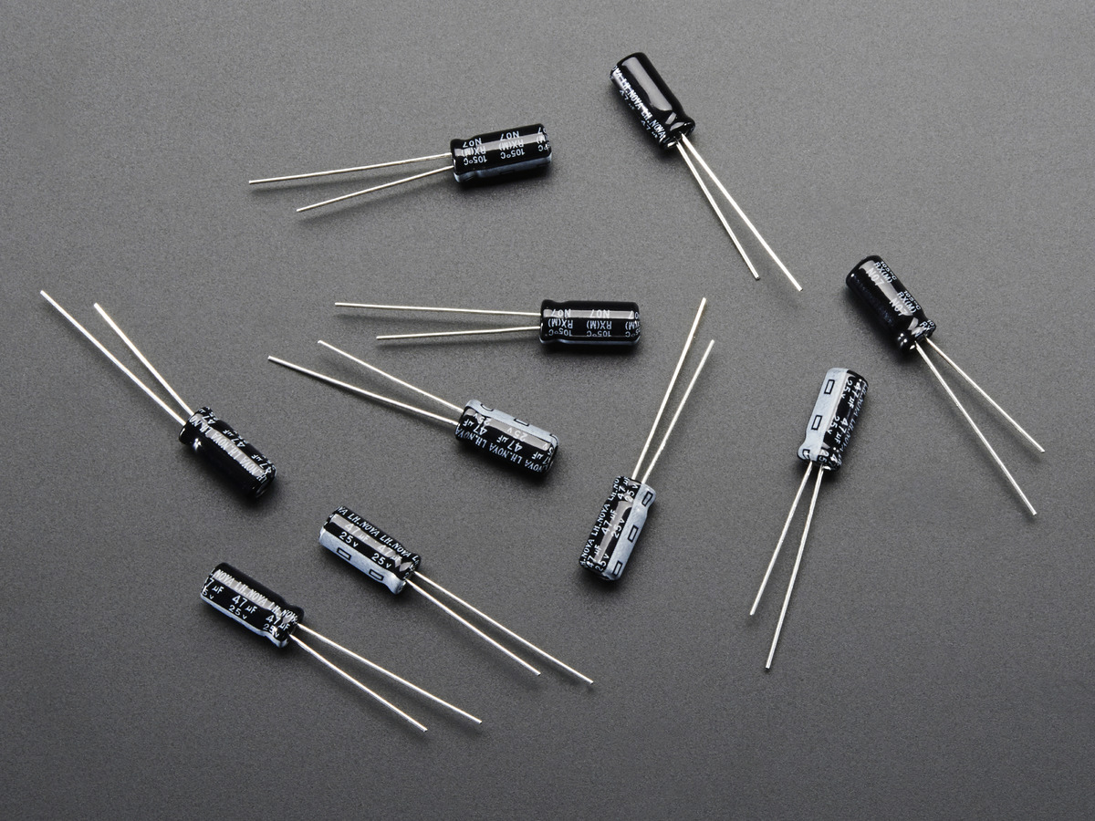 47uf 25v Electrolytic Capacitors Pack Of 10 Id 2194 195 In Circuit