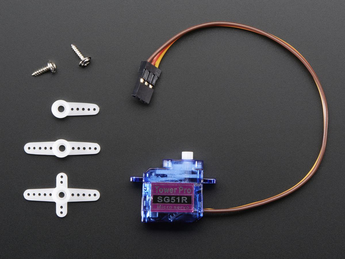 Sub-micro Servo - SG51R ID: 2201 - $5.95 : Adafruit Industries ...