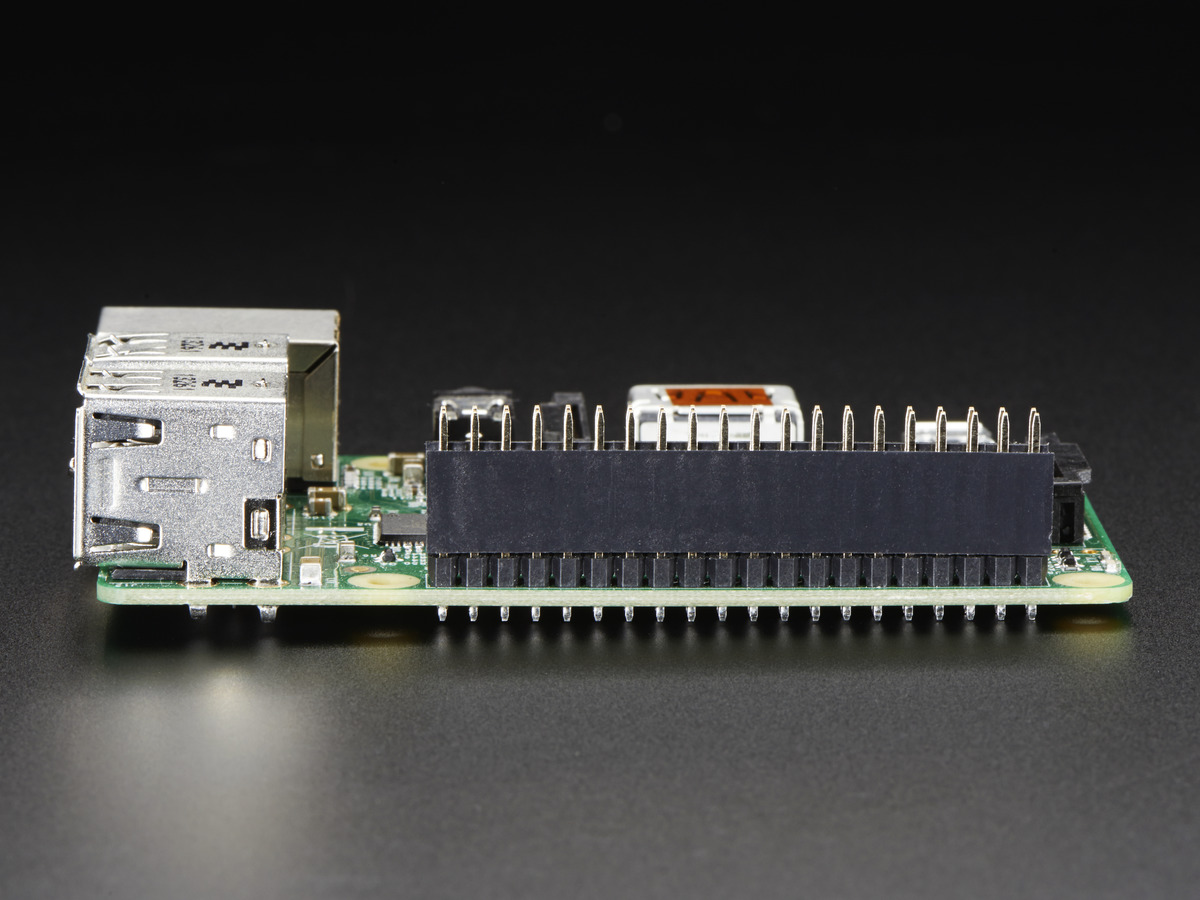 ... GPIO Header for Raspberry Pi A+/B+/Pi 2/Pi 3 - 2x20