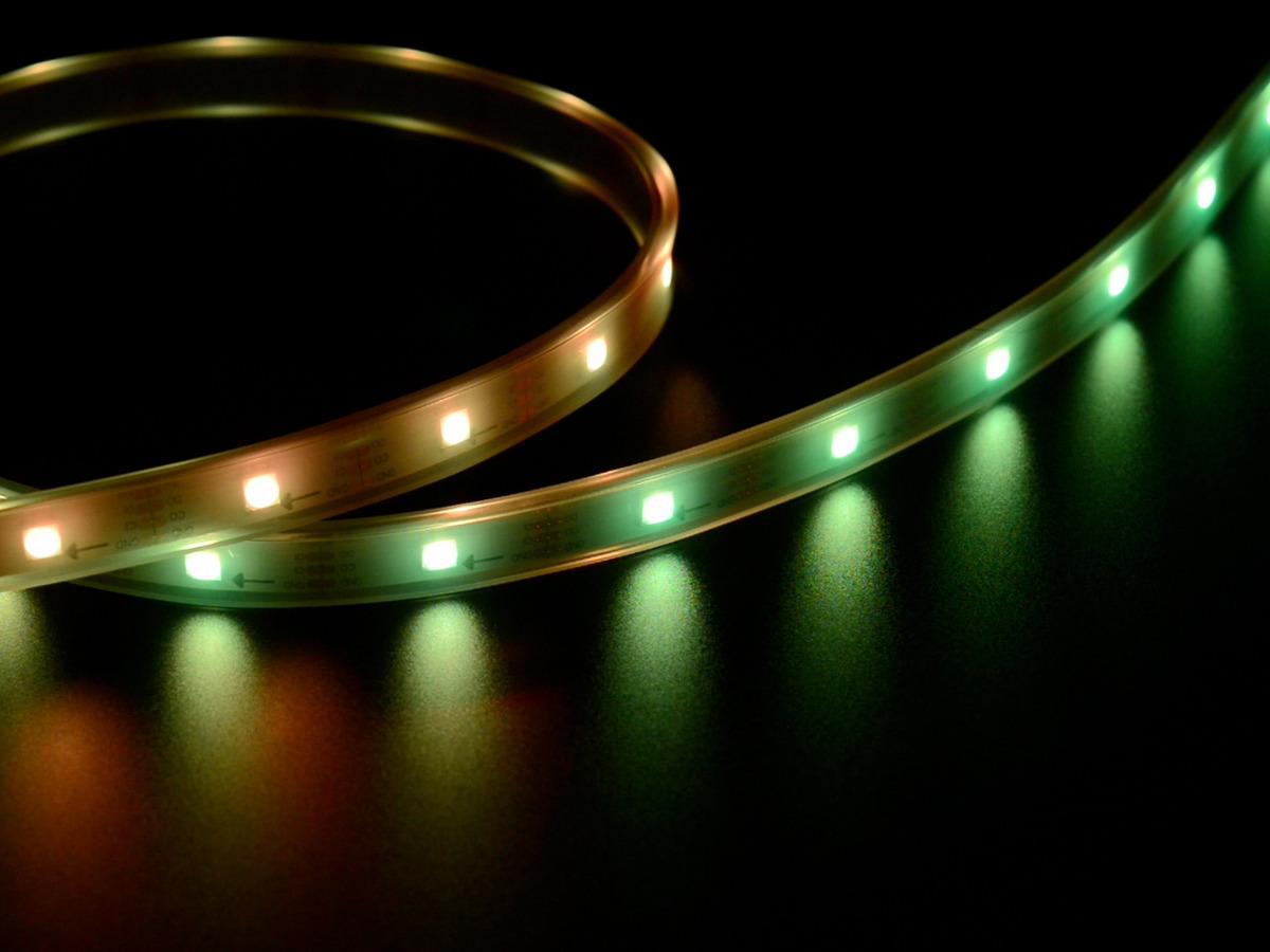 Adafruit DotStar Digital LED Strip - White 30 LED - Per Meter [WHITE