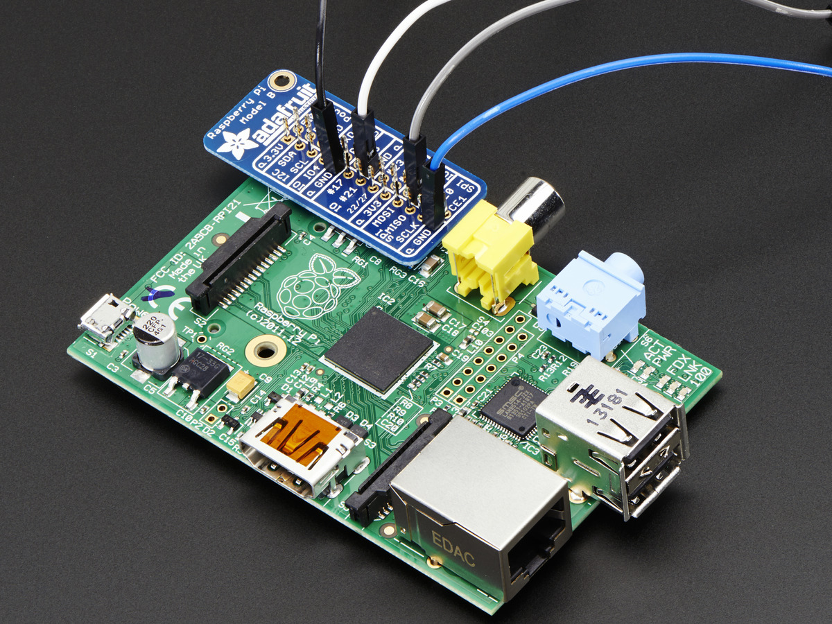Adafruit Gpio Reference Card For Raspberry Pi Model B Id 2262 Wiringpi