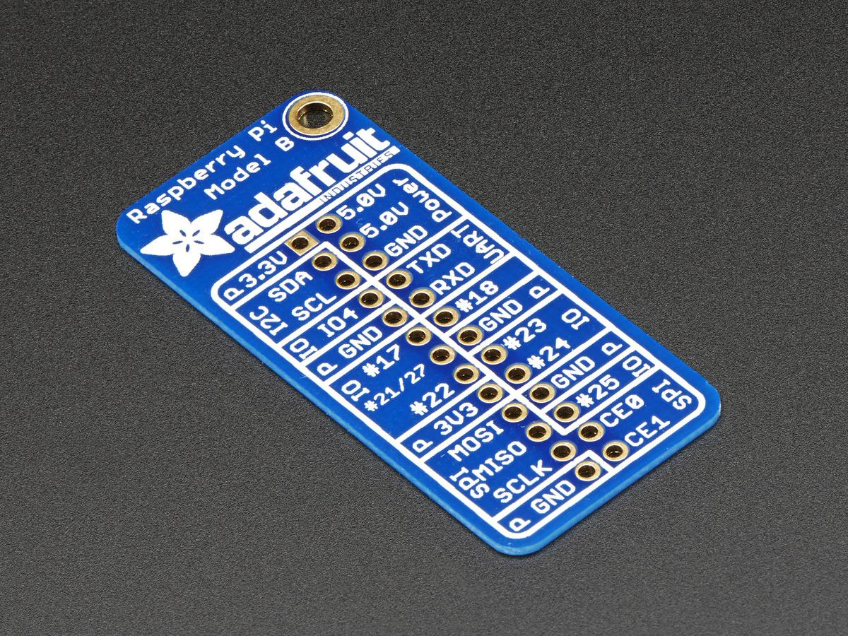 Adafruit Gpio Reference Card For Raspberry Pi Model B Id 2262 Wiringpi Not Working