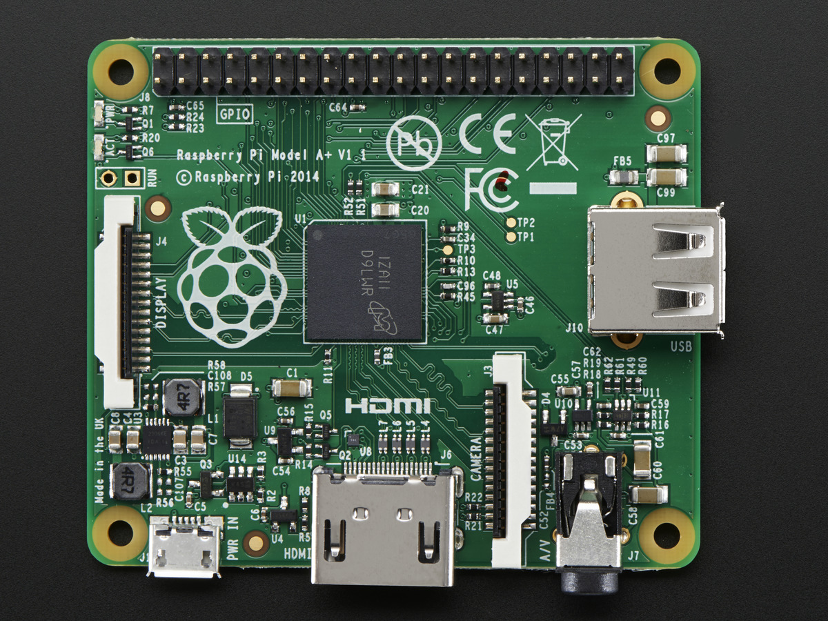 Raspberry Pi Model A+ 512MB RAM Raspberry Pi Model A+ 512MB RAM