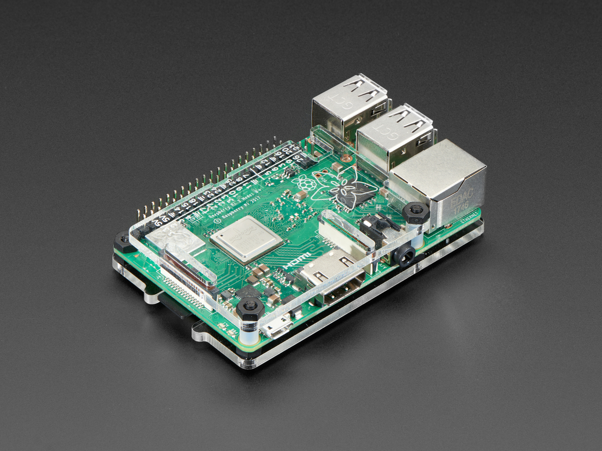 Adafruit Pi Protector For Raspberry Model B 2 3 Id Illustration Simple Series Circuit 3d