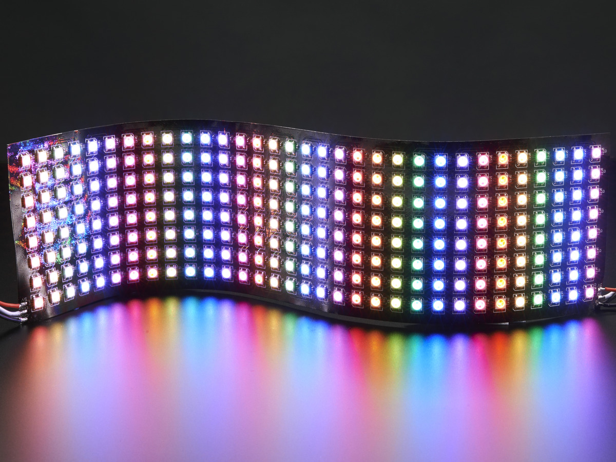 flexible 8x32 neopixel rgb led matrix id 2294 adafruit industries unique fun diy. Black Bedroom Furniture Sets. Home Design Ideas