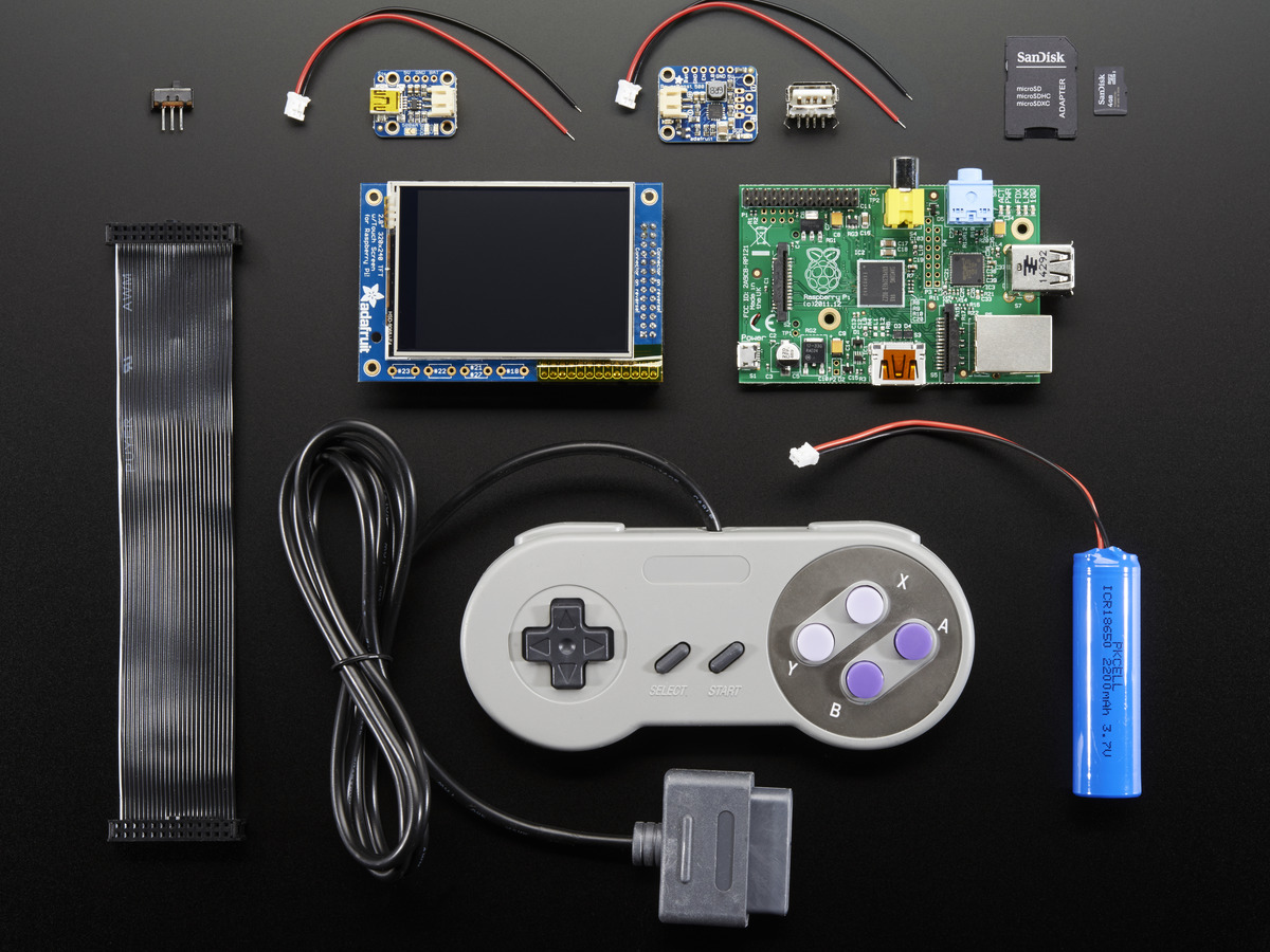 pigrrl pack build your own pi game emulator case not included id