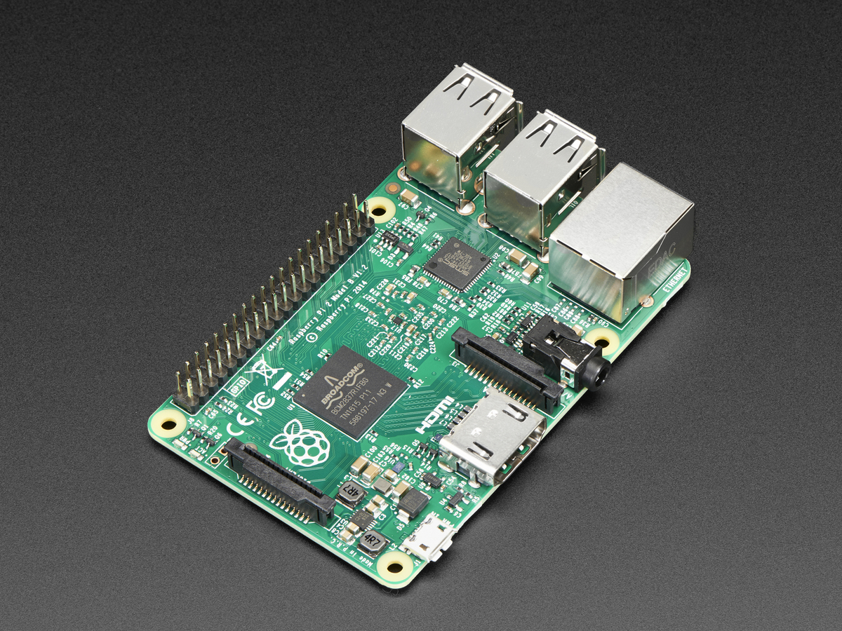 3d9b015a4e42ab Raspberry Pi 2 - Model B v1.2 - ARM Cortex-A53 with 1G RAM ID  2358 ...