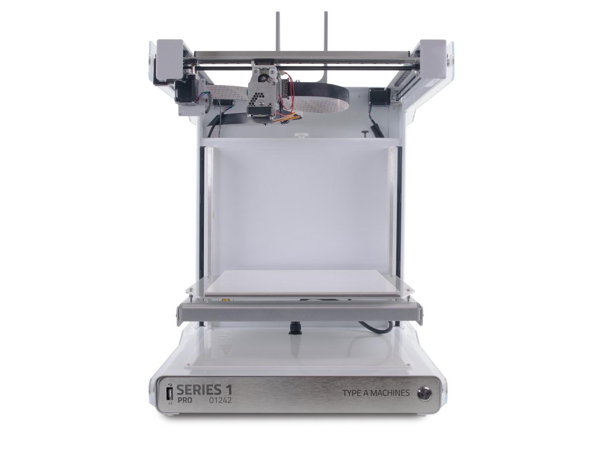 Type A Machines Series 1 Pro 3D Printer ID: 2412