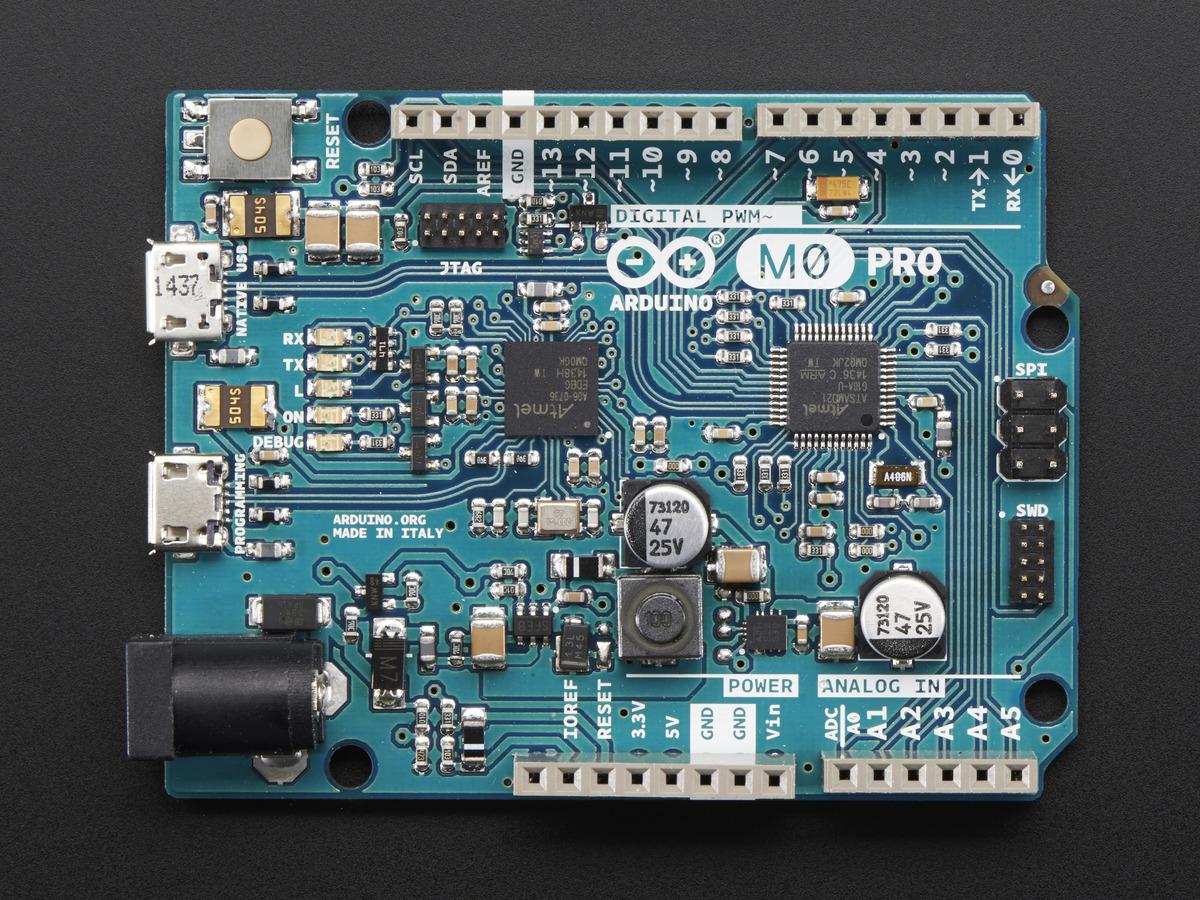 Arduino m pro bit cortex with debug interface id