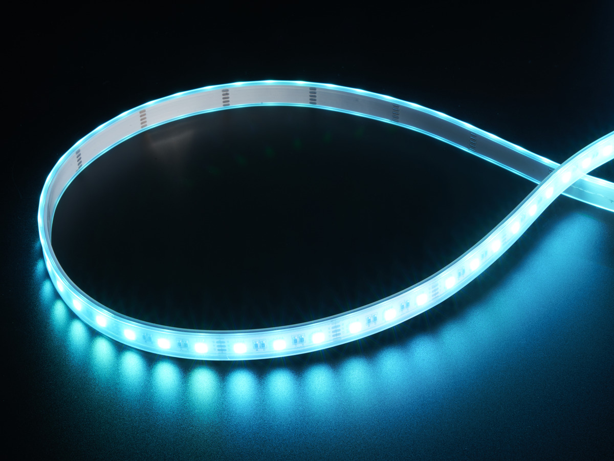 analog rgbw led strip rgb plus cool white 60 led m 6000k id 2440 adafruit. Black Bedroom Furniture Sets. Home Design Ideas