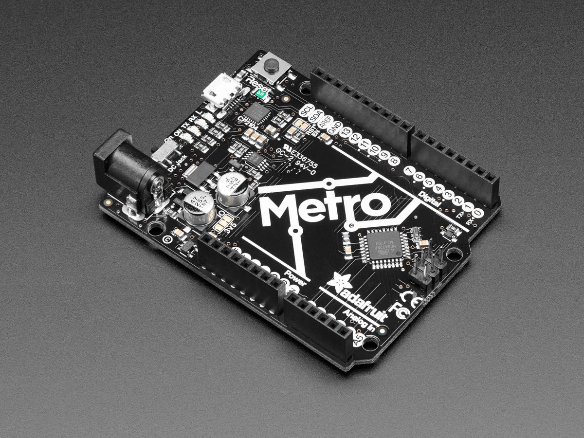 Adafruit Metro 328 Arduino Compatible With Headers Atmega328 Make Your Own Temperature Controller An