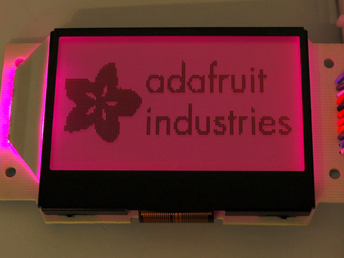 Lcds Displays Adafruit Industries Unique Fun Diy Electronics Cnc Lcd Character 20x4 2004 5v Blue Backlight Module Graphic St7565 Positive 128x64 With Rgb Extras