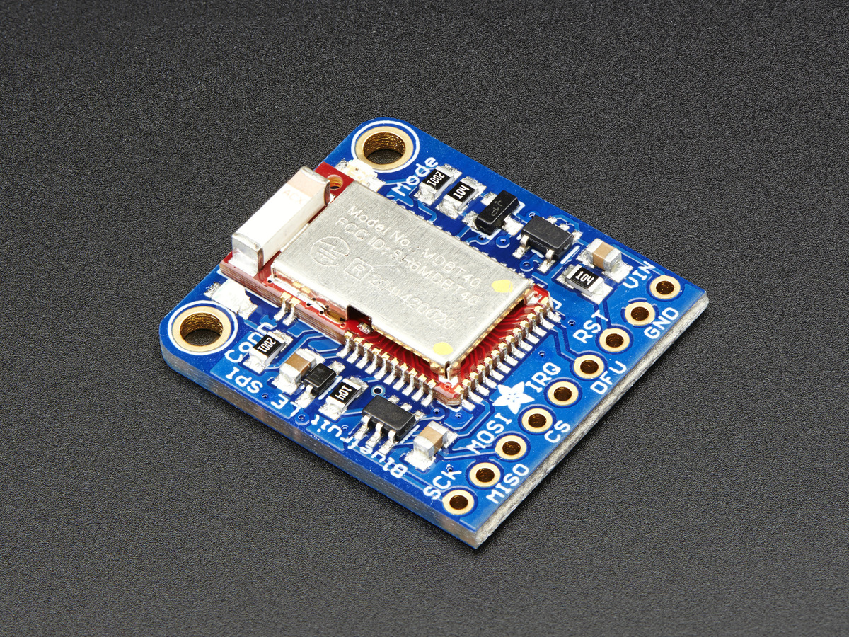 Adafruit Bluefruit LE SPI Friend - Bluetooth Low Energy (BLE) ID
